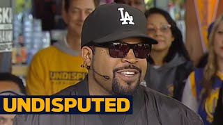Ice Cube on Golden State's Game 1 win against LeBron, Cavaliers in 2017 NBA Finals | UNDISPUTED