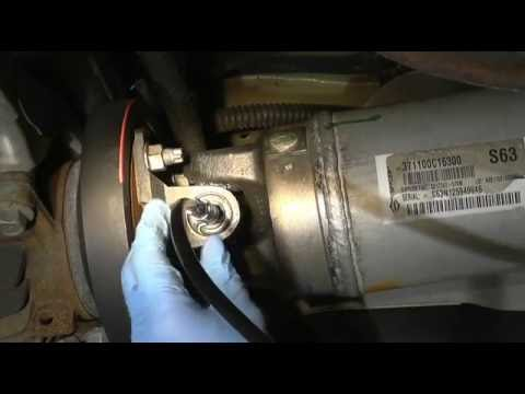 How to grease drive shaft on toyota and lexus vehicles