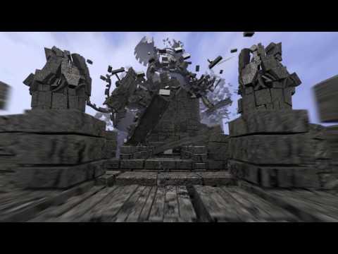 Exploding Castle Animation