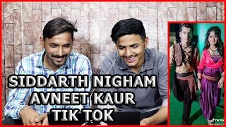 Avneet kaur Siddharth Nigham Latest Tik Tok Videos React By Pakistani Boys