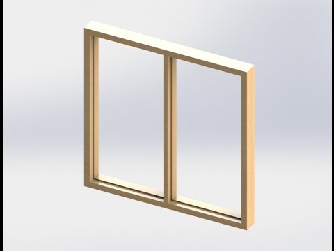 Solidworks - WINDOW FRAME - House