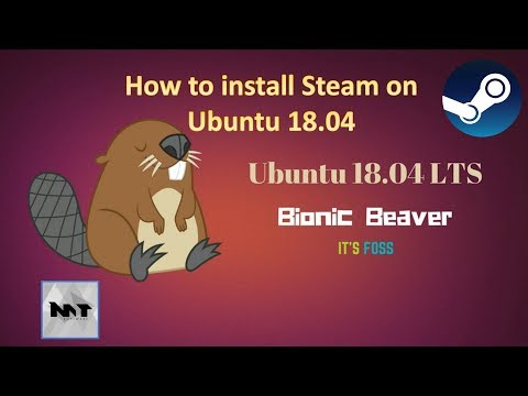 How to install Steam on Ubuntu 18.04