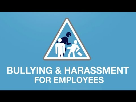 Bullying & Harassment at Work - Course for Employees