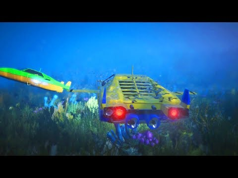 UNDERWATER SUBMARINE CAR IN GTA ONLINE