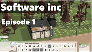 Let's play Software Inc - Episode 1 - Startup Success!
