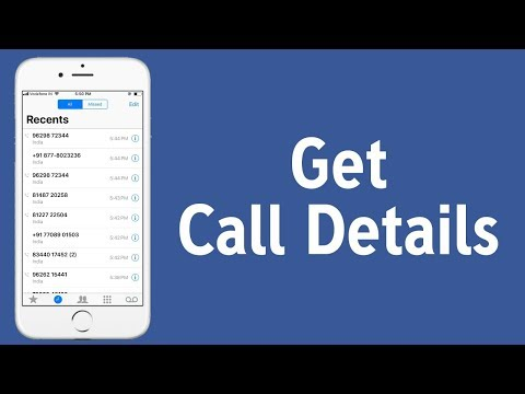 how to get call details with the help of facebook account/call log facebook data