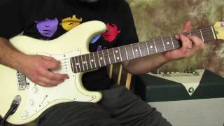 3 Riffs (super cool :-) John Mayer SHENANIGANS?