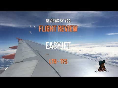 Easyjet Airbus A320| Economy Flight Review In 4K| London Luton- Tenerife South Airport