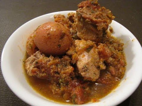 Easy Crockpot Recipes - Goulash Pork Stew Recipe
