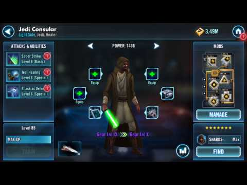 Gearing up Jedi Consular