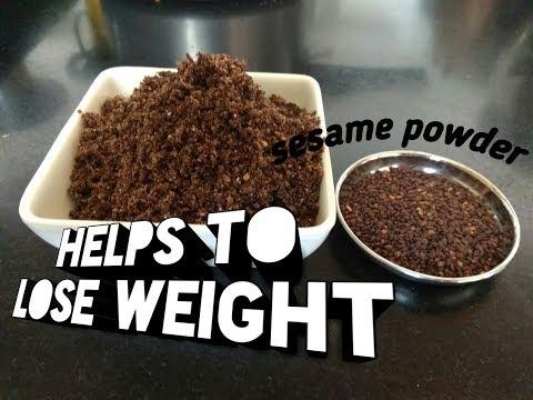 Ellu podi for idli and dosa | sesame powder recipe | helps to lose weight