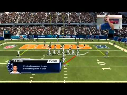 Madden 25 Complete Ranked Gameplay | Colts Vs Bears | Captain Luck | Road To Madden 15 | Stiff