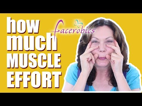 Are you Exercising  Your Face Too Hard? | FACEROBICS® Face Exercise Program
