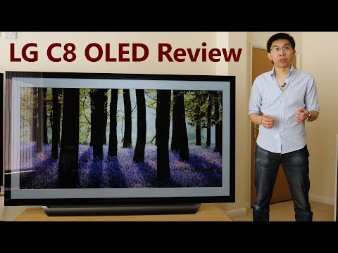 LG C8 2018 OLED TV Review