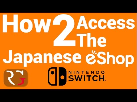 How to Access the Japanese eshop on the Nintendo Switch