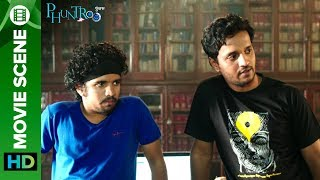 Madan Tells His Choice In Girls - Madan Deodhar & Ketaki Mategaonkar   Phuntroo   Eros Marathi