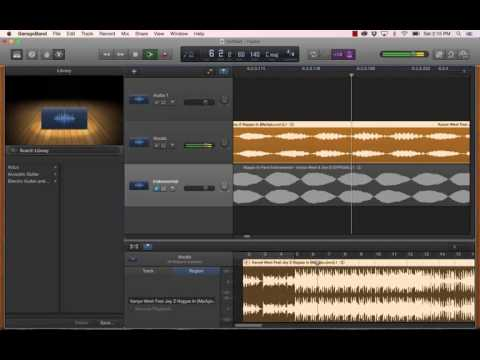 How to Make a Song Clean in Garageband (remove bad words)