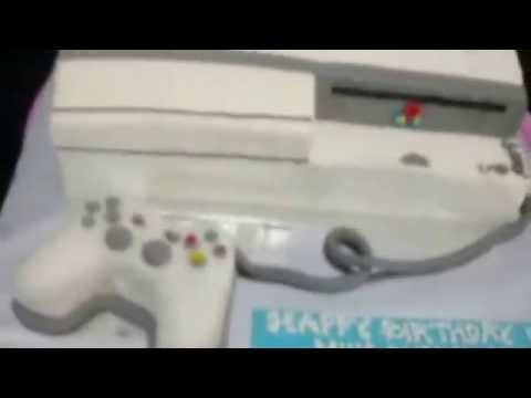 How to Make PlayStation 3 Cake