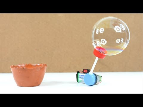 Make a Big Bubble Machine Fun Activity for Kids Bubble Playtime DIY || BUBBLES for kids!