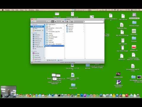 How to copy your Home Folder (Mac)
