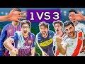 MEJORES De AMERICA Vs MEJORES De EUROPA 3 VS 1 PES 2019