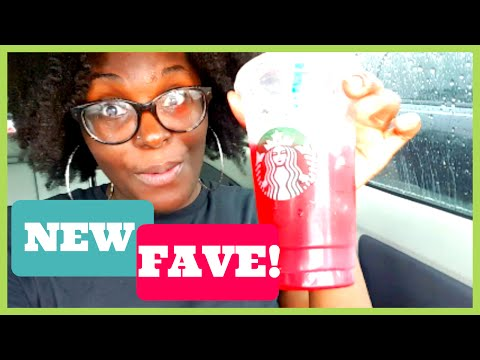 Shopping at Target & Trying Starbucks Passion Tea Lemonade | CynJerTV Family Vlog