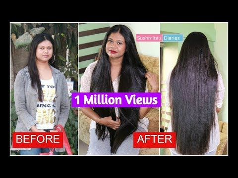 My Hair Journey | How I Grew My Hair? From Short & Thin to Long & Thick hair|Sushmita's diaries