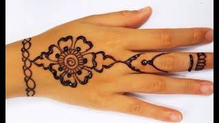 Gambar Gambar Henna Yang Mudah Ditiru