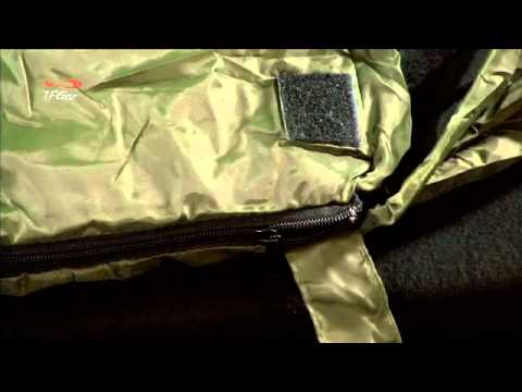 TF Gear force 8 3 season sleeping bag from Total Fishing Gear