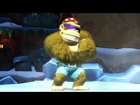 Donkey Kong Country Tropical Freeze - Walkthrough Part 5 -  World 5
