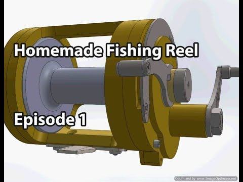 Homemade Fishing Reel Episode 1: Lever Drag Design