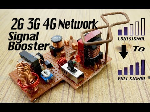 Cristel Oscillat 4G 3G 2G Network Signal Booster (Et Discover)