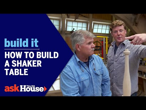 Build It | How to Build a Shaker Table