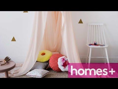 PRACTICAL IDEA: Kids canopy - homes+