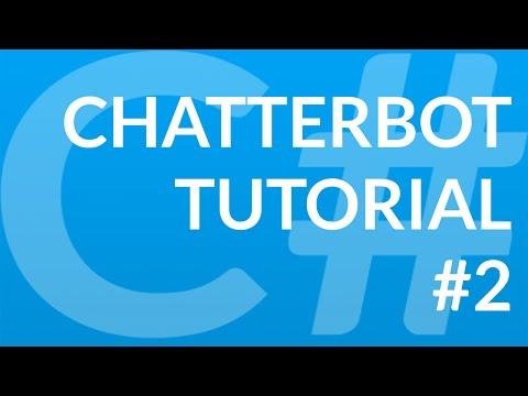 C# Chatbot Tutorial - 2 - Change text color