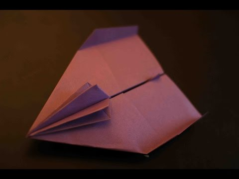 How to make a cool paper plane origami: instruction| Safari