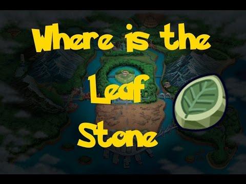 Where Is: The Leaf Stone (Location 1) (Pokemon Black 2/White 2)