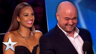 Unforgettable Audition: Danny Posthill turns into MICHAEL MCINTYRE!   Britain's Got Talent