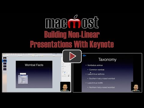 Building Non-Linear Presentations With Keynote (MacMost #1801)