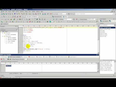 Toad for Oracle PL/SQL Debug