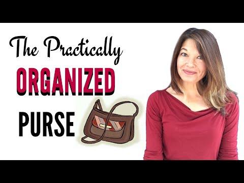 Practical Purse Organization
