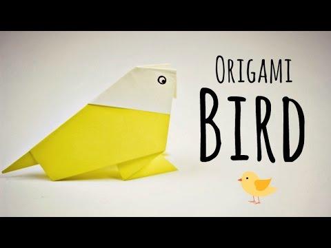 origami bird instructions