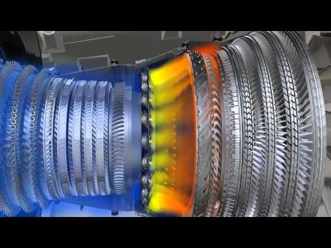 How does a CFM56-5B work ?