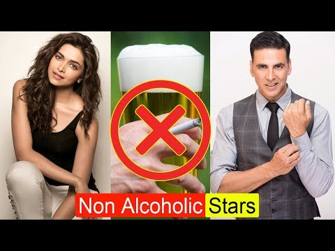 बॉलीवुड सितारे जो रियल लाइफ में नहीं छूते सिगरेट-दारु | Non Alcoholic Bollywood Celebs