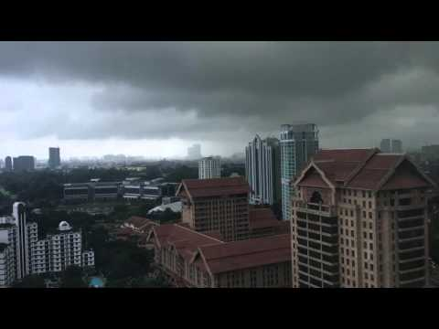Heavy Rainfall Clouds....In KL