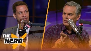 Chris Broussard's Lakers prediction: 53 wins and LeBron is MVP | NBA | THE HERD