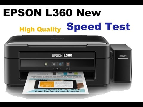 New Epson L360 high quality printing test, bought from snapdeal at ₹ 10,000/-