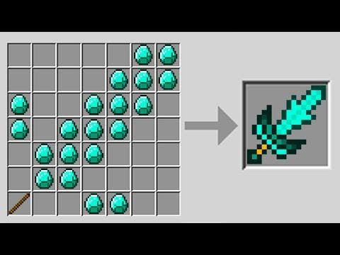 New Crafting Ideas in Minecraft Pocket Edition