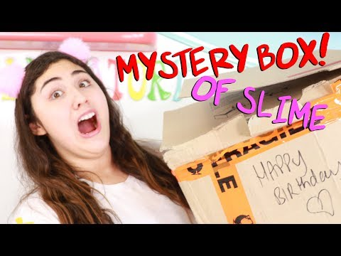Download $200 MYSTERY SLIME BOX FOR MY BIRTHDAY?!?! Slimeatory #485