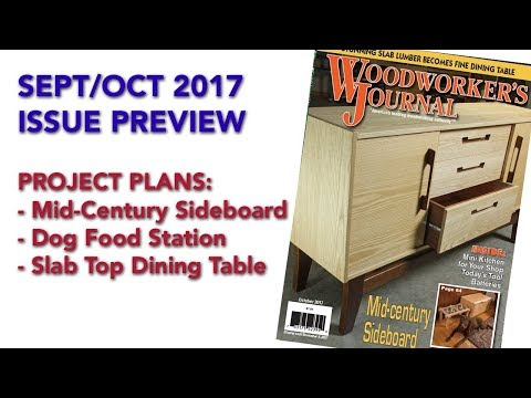 September/October 2017 Issue Preview | Woodworker's Journal Plans